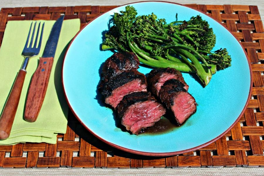 Red Miso Marinated Hanger Steak