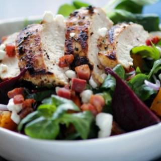 Grilled Chicken Winter Salad - h