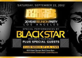 Lyricist Lounge Flyer_Black Star