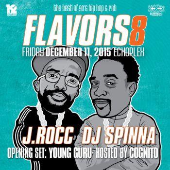 Flavors 8 Echo Flyer