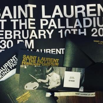 YSL Saint Laurent Burger Records