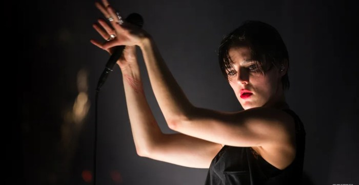 Jehnny Beth of Savages at El Rey