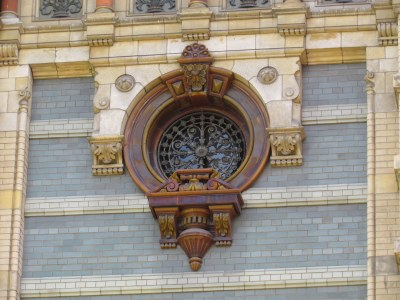 Window Detail, El Palacio de Aguas Corrientes