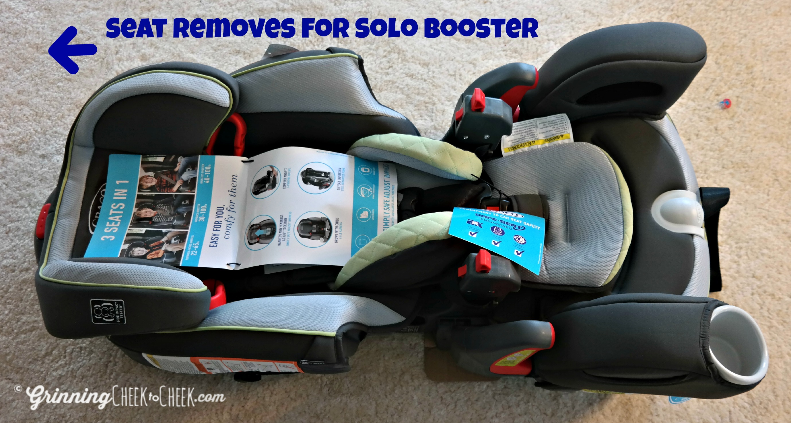 Fullsize Of Graco 3 In 1 Car Seat