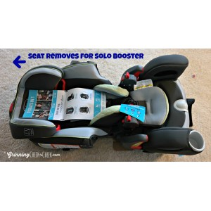 Voguish Grinning Cheek Graco 3 1 Car Seat Extend To Fit Installation Rear