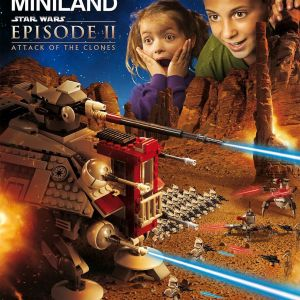 LEGO MINILAND Model Display Star Wars Episode II: Attack of the Clones GIVEAWAY!
