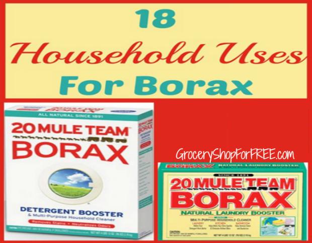 Borax en mercadona