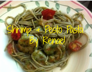 Shrimp & Pesto Pasta