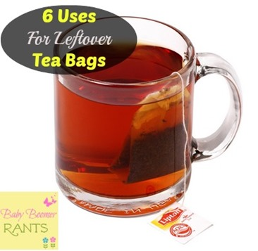 6 little known uses for leftover tea bags - Uses for tea bags ...