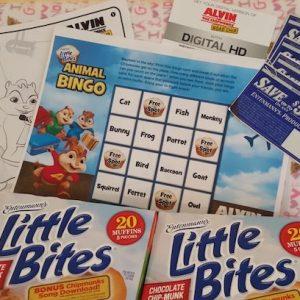Entenmann's Little Bites & Alvin & The Chipmunks: Road Chip Giveaway!