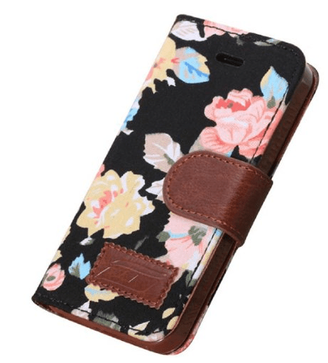 flower wallet and iphone case