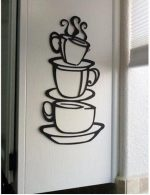 Coffee Cup Removable Vinyl Sticker Decal Just $1.97!  FREE Shipping!