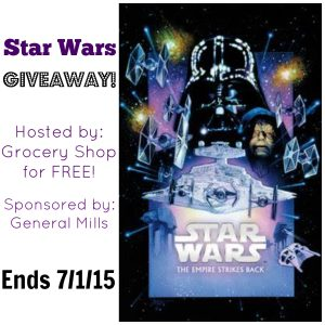 Star Wars Giveaway – Movie Poster And Cereal!