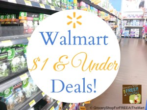 Walmart $1 & Under Deals