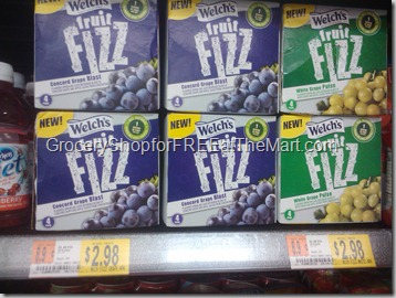Welch's Fruit Fizz