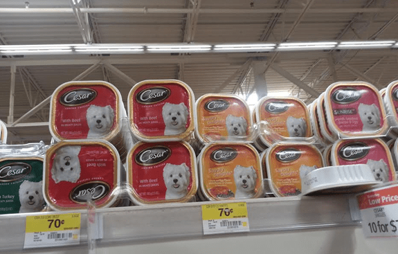 Cesar Canine Cuisine Dog Food Just $0.37
