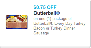 Butterball Bacon coupon