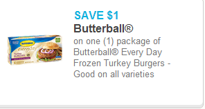 Butterball burger coupon