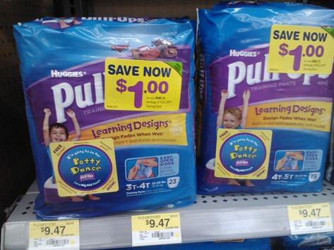 Huggies Pull-Ups 1-4-12