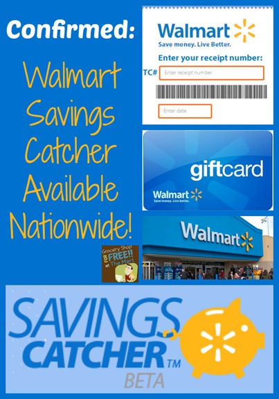 Walmart Savings Catcher Available Nationwide