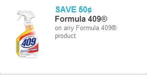 Formula 409 Coupon