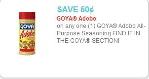 Goya Adobo Coupon