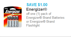 Energizer Bettery Coupon