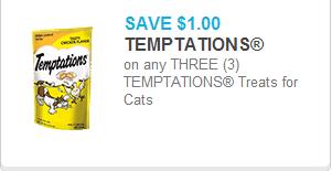 Temptations Cat Treats Coupon
