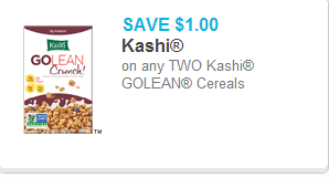 Kashi GoLean Coupon