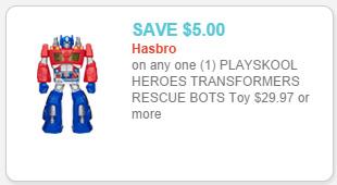 Playskool Heroes Transformers Rescue Bot