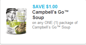 Campbell's Go Soup Coupon