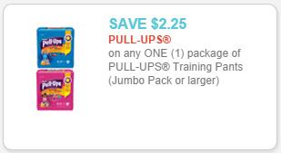 pull-ups training pants coupon
