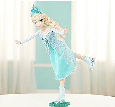 Disney Frozen Skating Elsa Doll