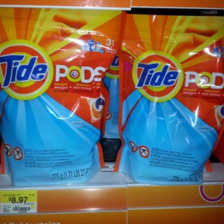 Tide Pods as low as $6.97 at Walmart!