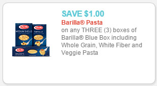 barilla pasta coupon