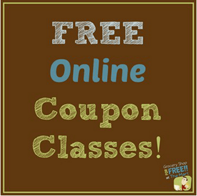 FREE Online Couponing Class