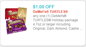 Demet's Turtles Coupon