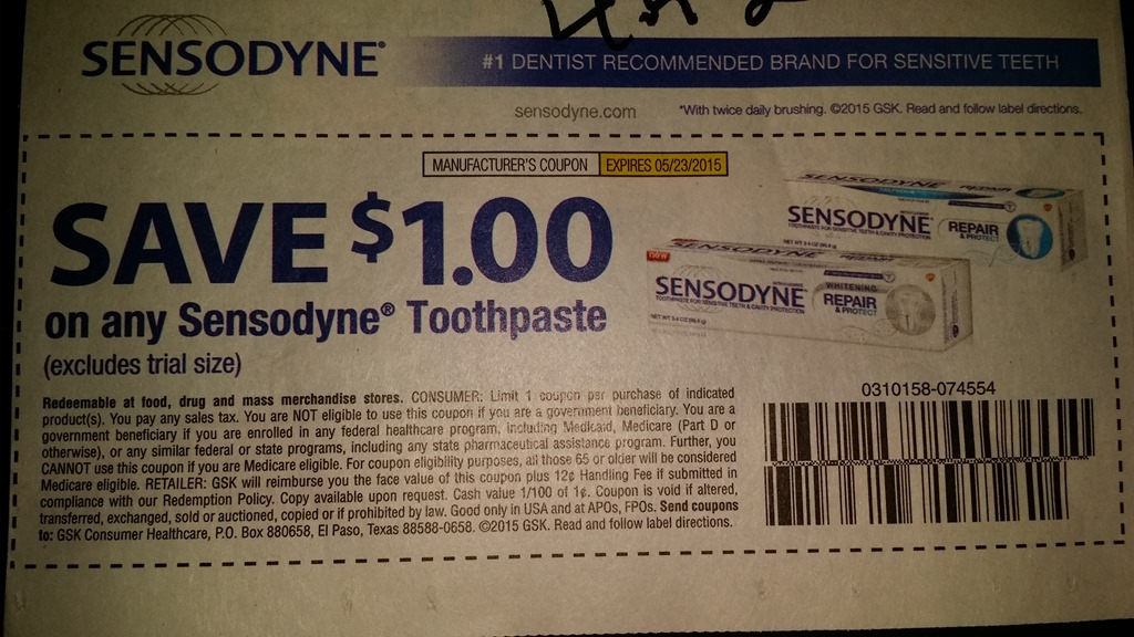 sensodyne strategies Sensondyne pronamel toothpaste coupon strategy #2: get access to proprietary sensodyne pronamel communications direct from the company we recommend liking the.