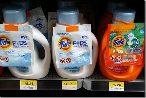 New High Dollar Coupon for Tide Detergent and Walmart Matchup!