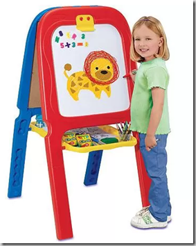 Walmart Rollback Deal: Crayola 3-in-1 Double Easel with Magnetic Letters Just $24.97!