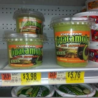 Half Price Yucatan Guacamole at Walmart!