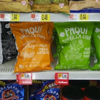 FREE Paqui Chips With Overage At Walmart!