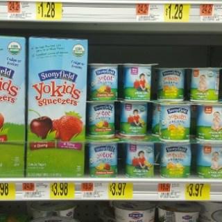 Stonyfield YoKids Yogurt Just $2.23 At Walmart!