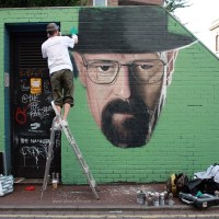 Manchester // Akse: Heisenberg Breaking Bad Art