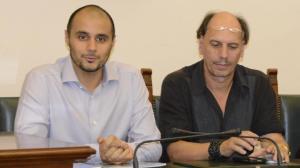 Il principe Alwaleed (a sinistra) con Pincione