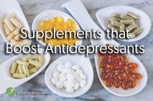 Supplements that Boost Antidepressants