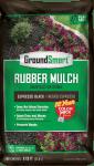 Black Rubber Mulch Espresso Bag Package GroundSmart
