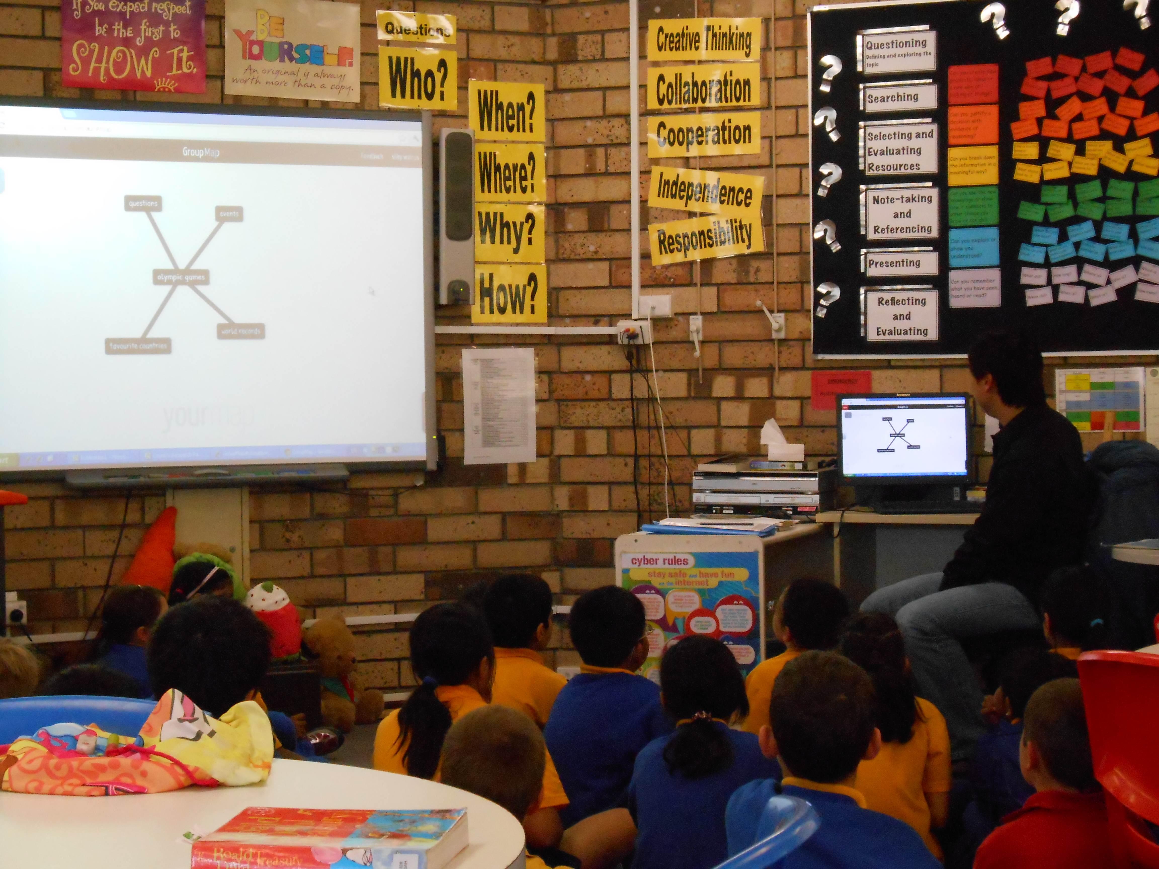 Rostrata Primary Groupmap class collaboration