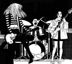 Perla La Loca - Hopey and band