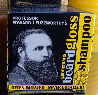 A beard gloss shampoo.